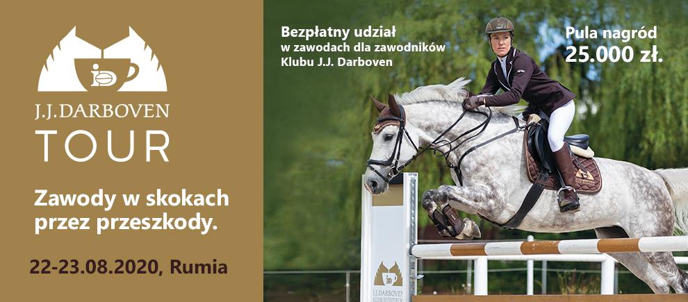 Rumia J.J. Darboven TOUR; Regionalne i towarzyskie zawody w skokach przez przeszkody 22-23.08.2020