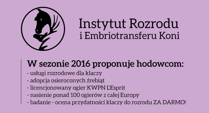Instytut Rozrodu i Embriotransferu Koni – IREK